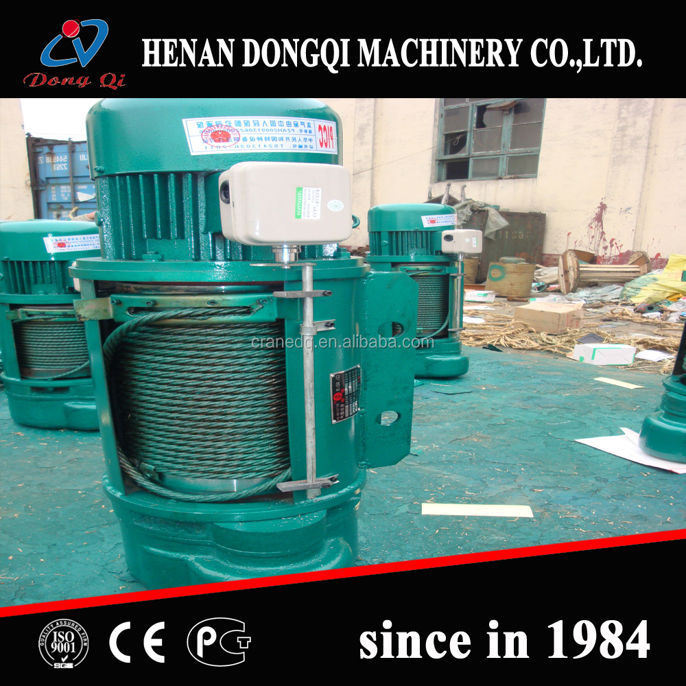 Electric Wire Rope Hoist Specifications, Electric Wire Rope Hoist ...