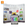 Portable Fabric Single Side Spring Pop Up Display Wall