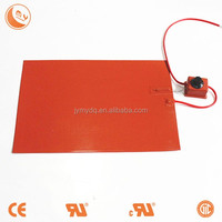 silicone rubber heater 12 volt heating element oil filled heater parts