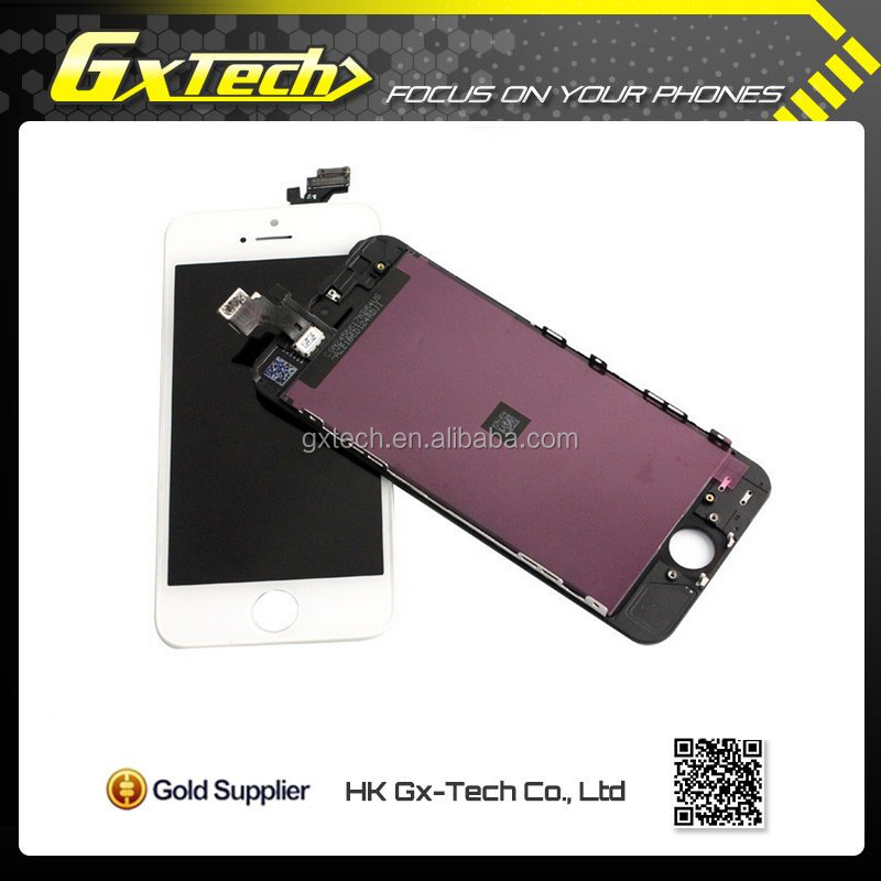 White And Black DHL Shipping Door to Door For Apple iPhone 5 LCD Screen
