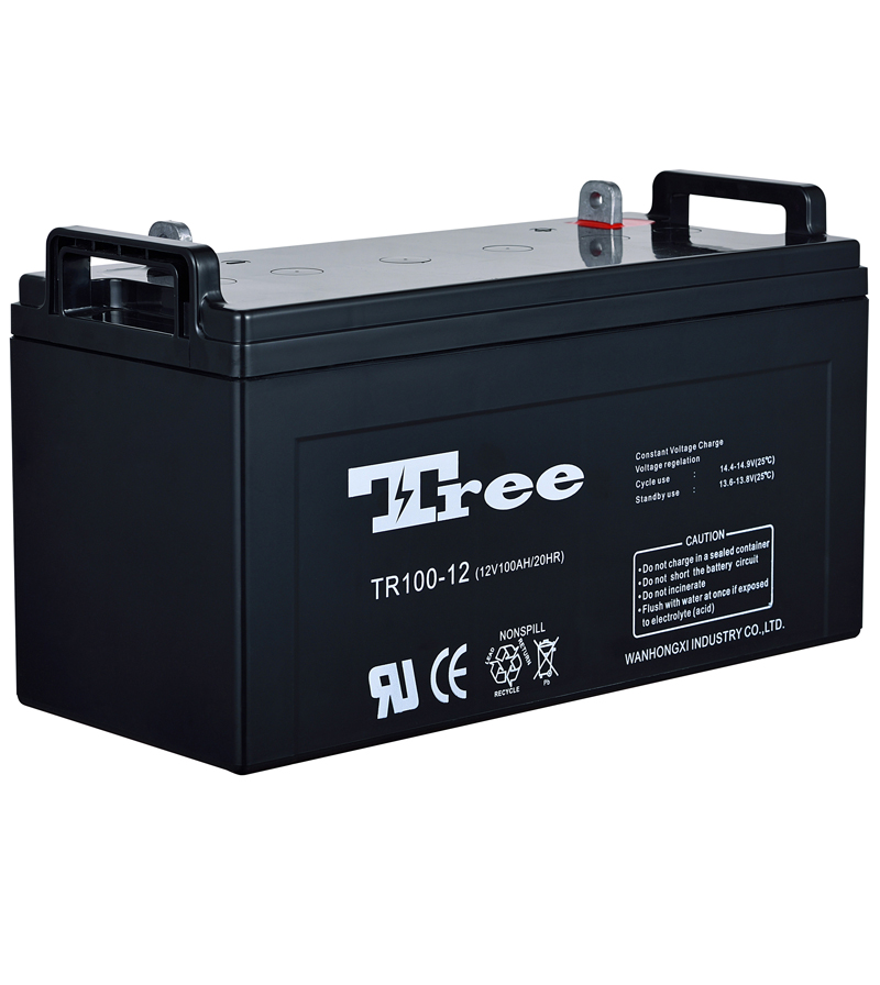 long life industrial vrla batteries 12v 100 ah agm deep cycle battery