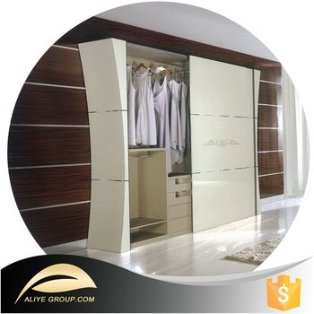 Bon BL21206 Manufacture Luxury Almirah Bedroom Wooden Wardrobe Door Designs