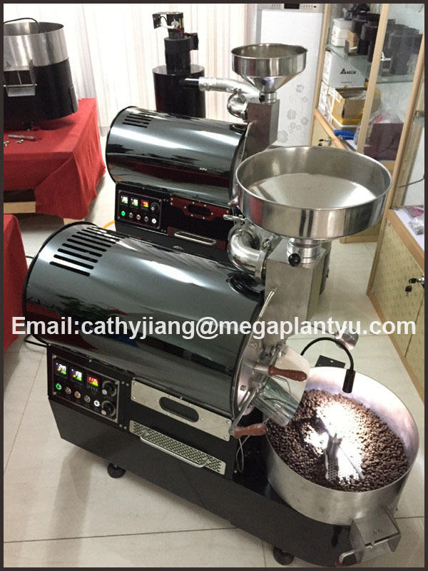 coffee roasting machine industrial