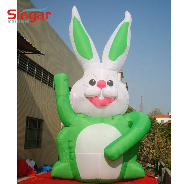Good price inflatable 3D products,inflatable rabbit,inflatable animals
