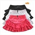 Women Running Jogging Short Skirt Tennis Skirt Short With Under shorts Plicate Fitness Skirts