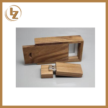 Bulk Wooden USB Flash Drive 1GB 2GB 4GB 8GB USB 2.0 for Gift with Custom Logo