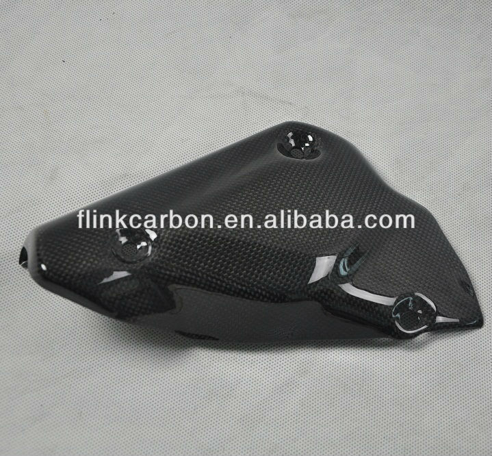 carbon fiber motorcycle exhaust cover part for Ducati 1098