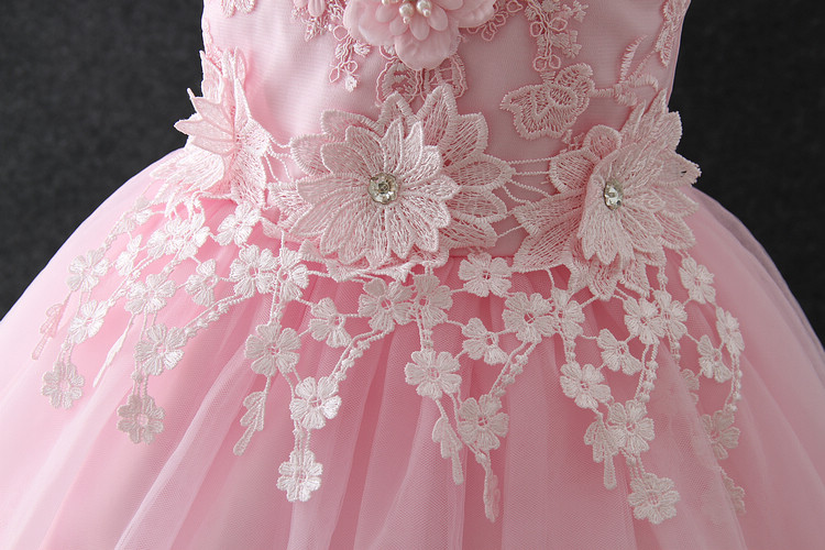 Baby Girl Party Dress Children Frocks Designs Summer Simple Floral ...