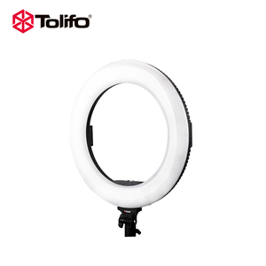 Tolifo 18'' Makeup Selfie  Video Diva LED Photographic Ring Light  with phones Camera Holder For Youtube Live Stream Dental Light