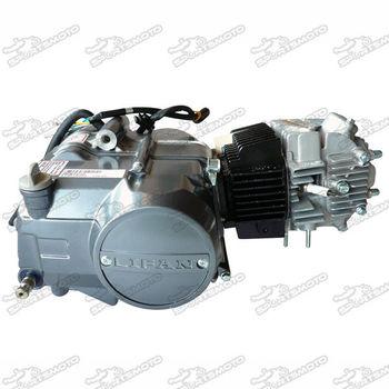 Dirt Pit Bike Lifan 125cc Semi Autimatic Engine Motor 1n234 - Buy ...