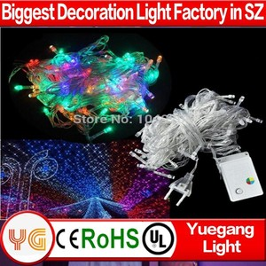 10m 100 leds strobe light string 110V 220V outdoor christmas laser lights for wedding party holiday decorative