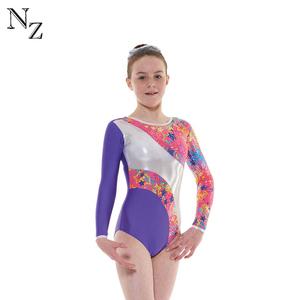 9135f9c27 Sublimation Girls Spandex Gymnastics Leotard