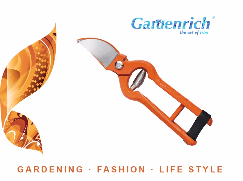 RG1105 Gardenrich Good Quality Drop Forged Hand Tool Pruning Shears