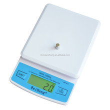 tare zero backlit portable smart weight scale with multi precision