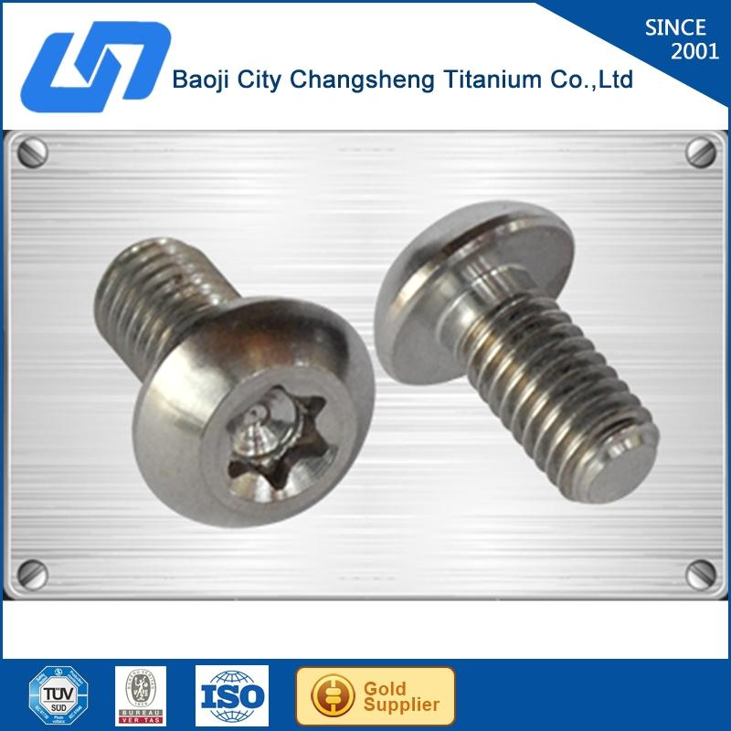 Export hex socket button head/ torx pan head titanium bolts/screw wholesale with great price