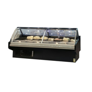 Supermarket Glass Deli Meat Case/Show case refrigerator