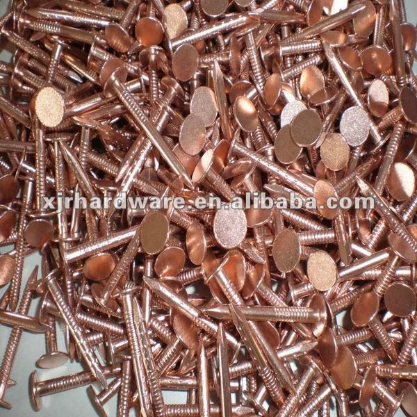 Large Head Copper Nails