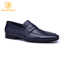 2017 italy no laces fashion casual men loafer shoes , wholesale comfort dress shoes genuine leather casual shoe for men