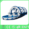 CE Outdoor splash inflatable water slides for kids/inflatable slide for pool/plastic slide