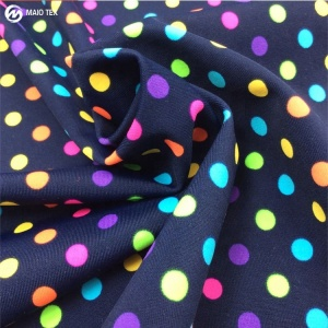 wholesale shaoxing textile 4 way stretch nylon spandex digital custom printed swimwear fabric