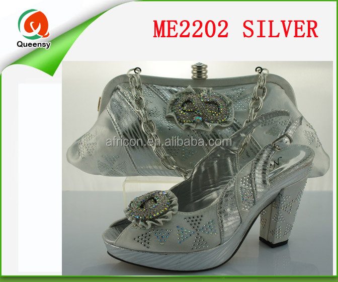 high bag heels with open wedding matching shoes style rhinestone toe ME2202 Italian party with for qwZFIBv