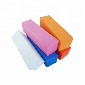 Wholesale Manicure Nail Care Tools Supplies Sponge or EVA Foam Four Sided Nail Polishing Buffing Buffer Block