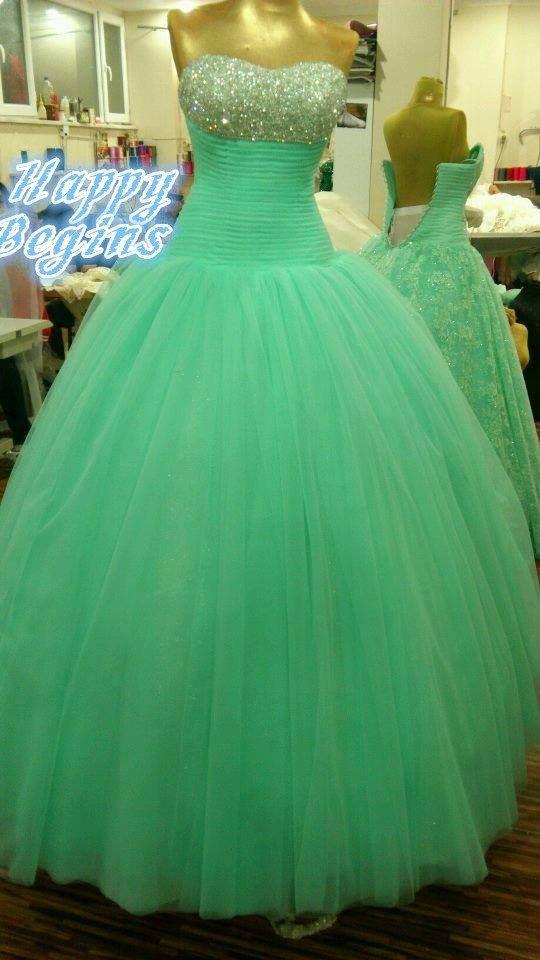 Sparkling Penuh Beaded Strapless Off Bahu Ball Gown Prom Dresses 2016 Custom Made Lampu Hijau Tulle Panjang Evening Dress Buy Evening Dresses 2017 Fashion Gaun Sampel Kualitas Tinggi Gaun Product On Alibaba Com