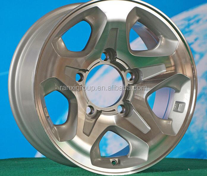Alloy Material Gloss silver SUV Car Wheel Rim Pcd 5x150 mm