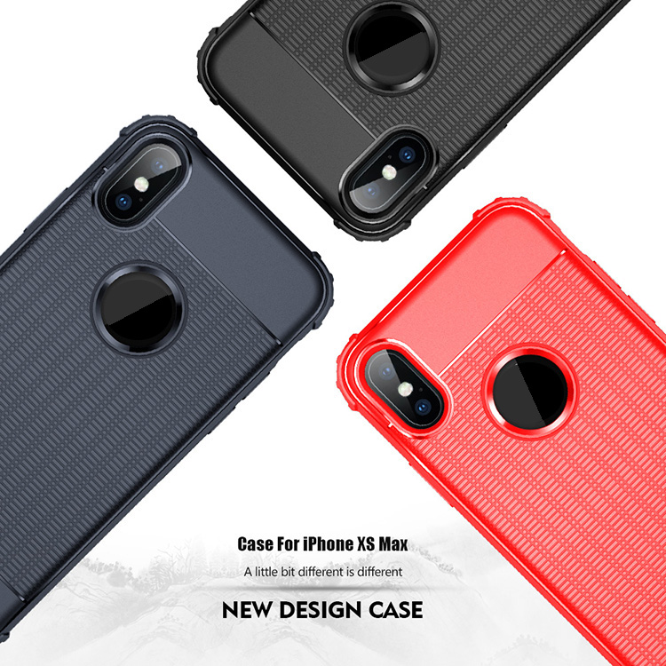 Maxshine High Quality Rubik's Cube Texture Design TPU Protective Phone Case  For iPhoneXS  Max