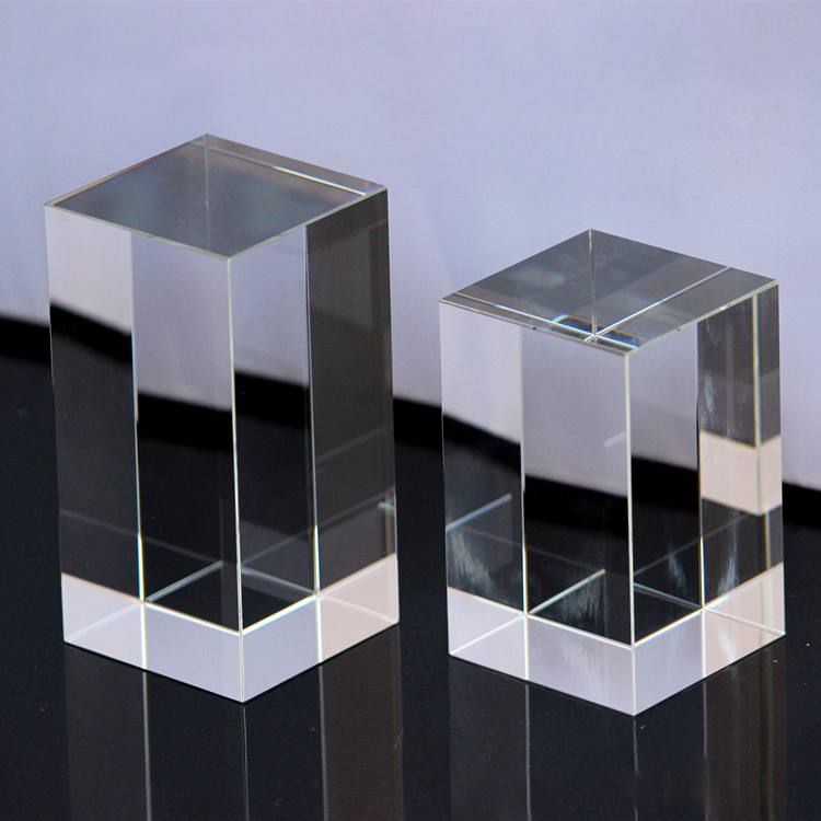 Factory direct condensed blank quadrilateral prisms of various shapes