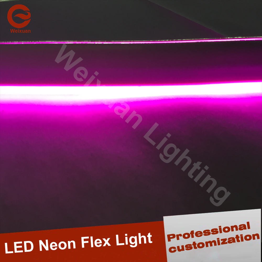 100m LED purpul Neon Rope light professional customization for halloween decoration light