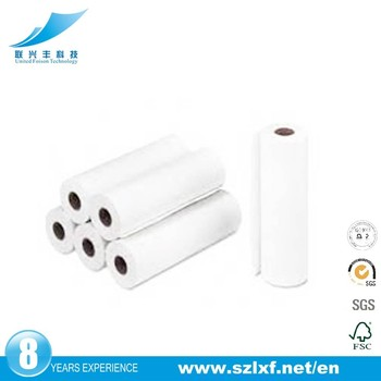 2017 wholesale thermal fax paper roll for fax machine