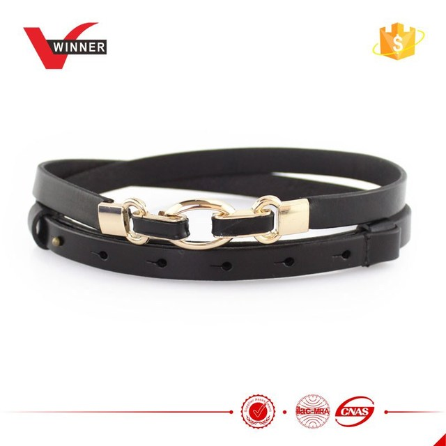 OEM de fábrica de las mujeres gancho hebilla de cinturón de cuero 2f57f301f1e3