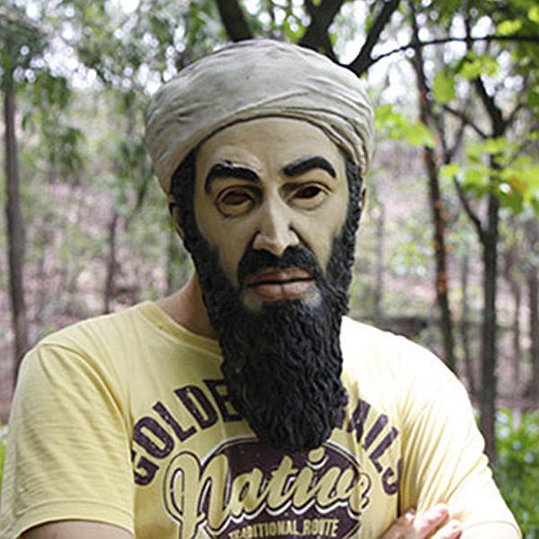 Osama bin laden the face behind the mask