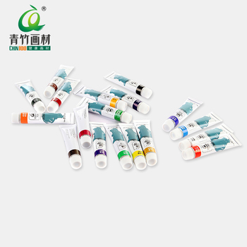 Professional quality washable paint for 12colors 12ml water color set