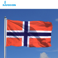 nuoxin yiwu supplier cross norwegian country flag