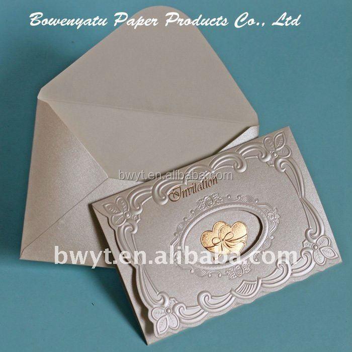 2015 New Design Wedding Invitation Card/greeting Card/business ...