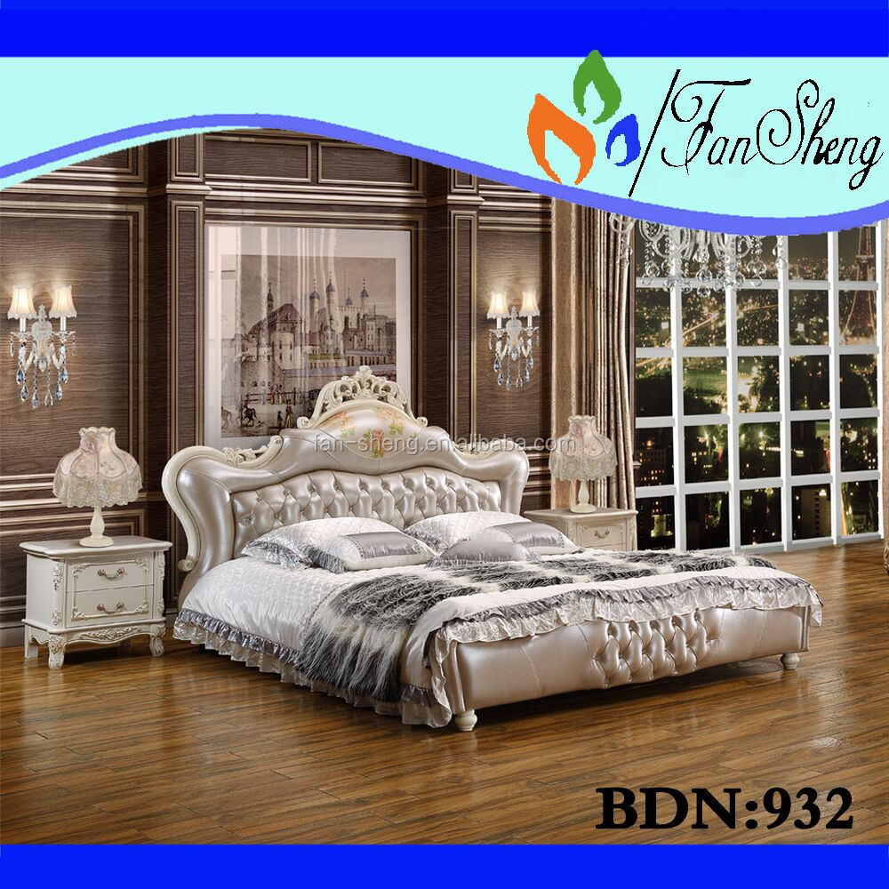 Italy Luxury Classical Royal Home Furniture Use Home Bed For  # Royal Door Muebles