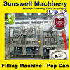 Aluminium can beer filling production line