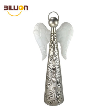 Home Decor Metal Cute Angels For Christmas Decorations