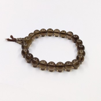Unisex Gender and Bracelets Bangles Jewelry gemstone  smokey quartz power bracelet smokey quartz crystals beads