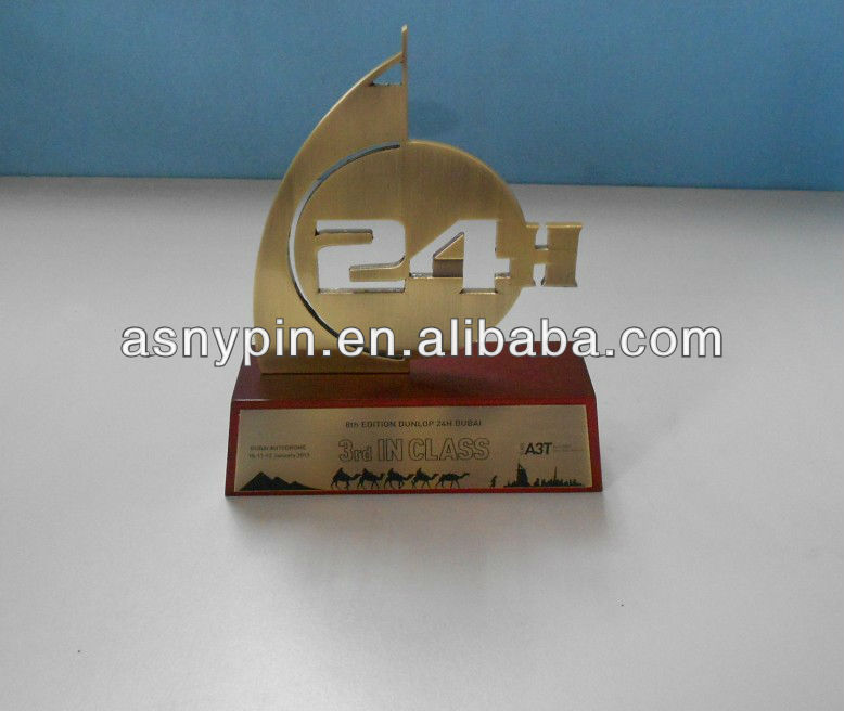 Chinese made wooden trophy for awarding/wooden cup trophy/custom made trophy
