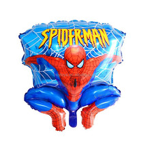 Balloon manufacturer wholesale hot new spider-man aluminum film the most loved children helium balloons