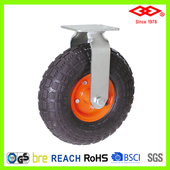 200mm garden cart swivel trolley wheel pneumatic caster wheel