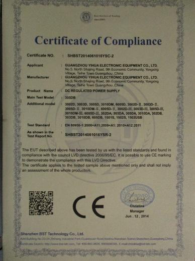 Company Overview - Guangzhou Yihua Electronic Equipment Co , Ltd