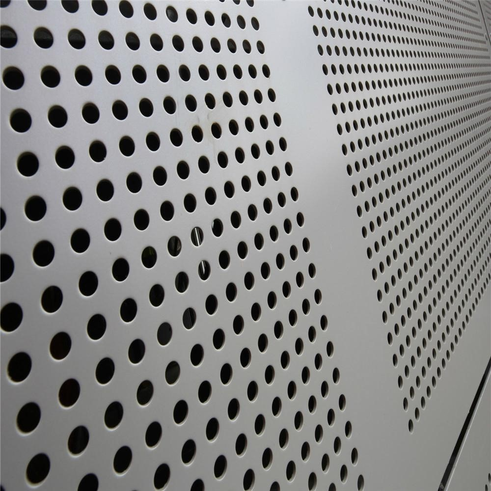 Stainless Steel Metal Sheet Punching Metal Mesh Perforated