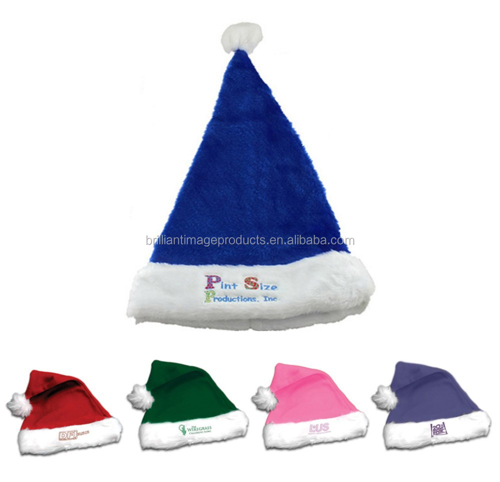 Christmas Plush Santa Hats/Long Plush Christmas Decoration