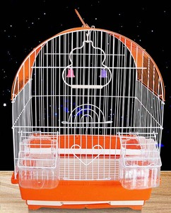 Wholesale Small Folding Metal Iron Wire Bird Breeding Cages For Sale / Birdcage Cages For Bird