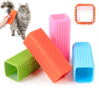 High Quality Soft Reusable Silicone Pet Hair Remover Hair Cleaning Tool For Dag Cat