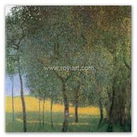 ROYI ART Reproduction Art Klimt oil painting of Fruit Trees